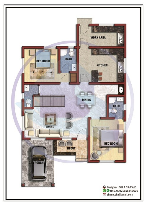 contemporary home design and 3d plan home pictures easy tips