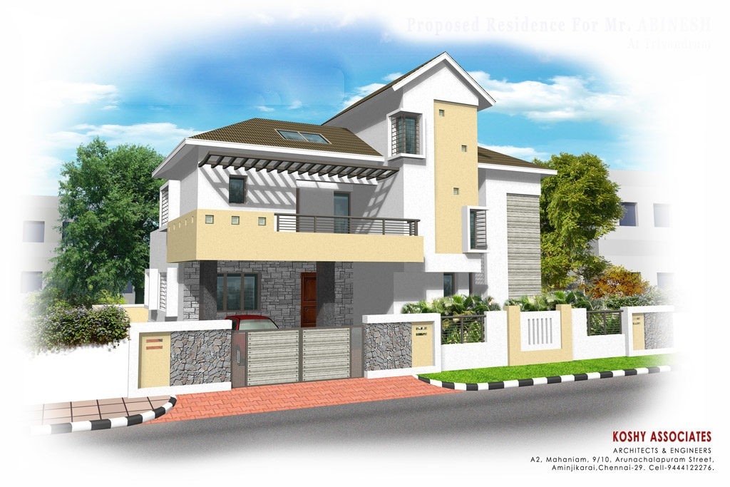 2800 Square Feet 4 Attached Bedroom Kerala Home Design And