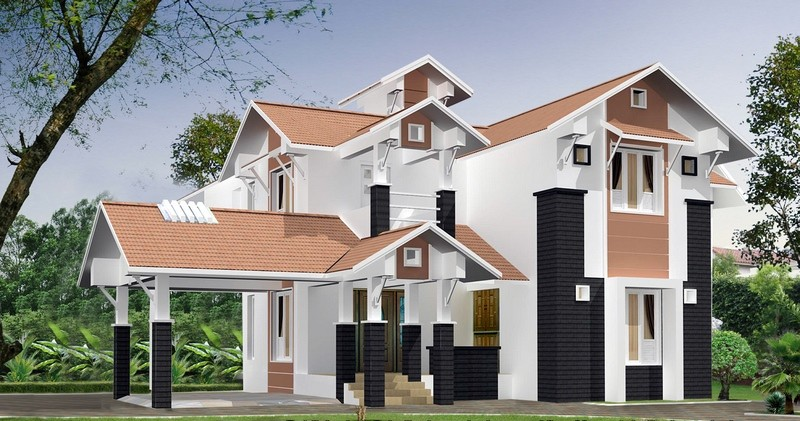 2800 square feet 4 bedroom kerala house design and plan for 2800 sq ft house plans single floor