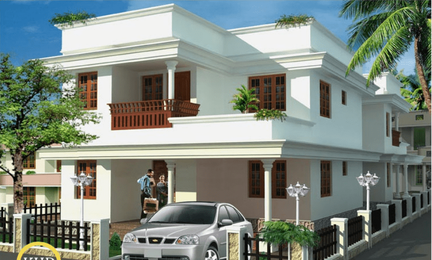 1700 Square Feet 3 Bedroom Kerala Latest Design and Plan