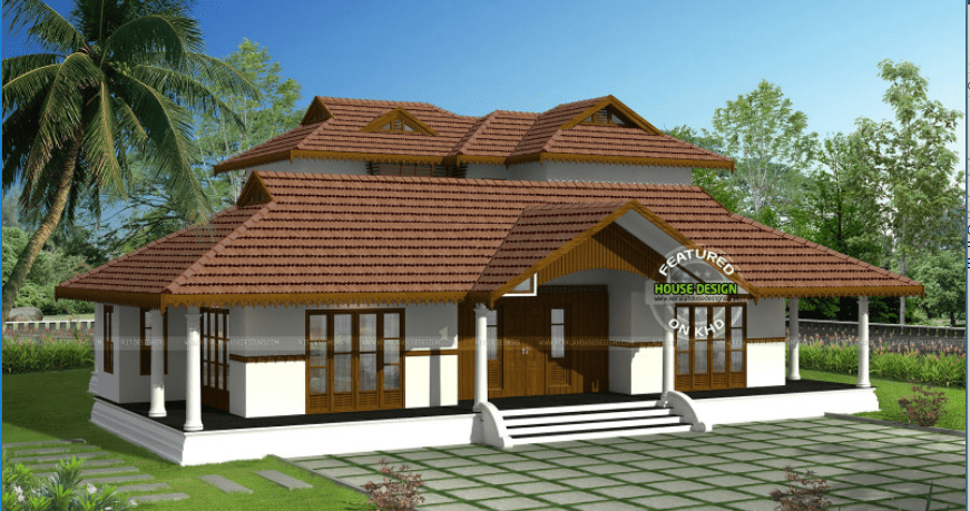 3065 square feet 4 bedroom luxury kerala home design with
