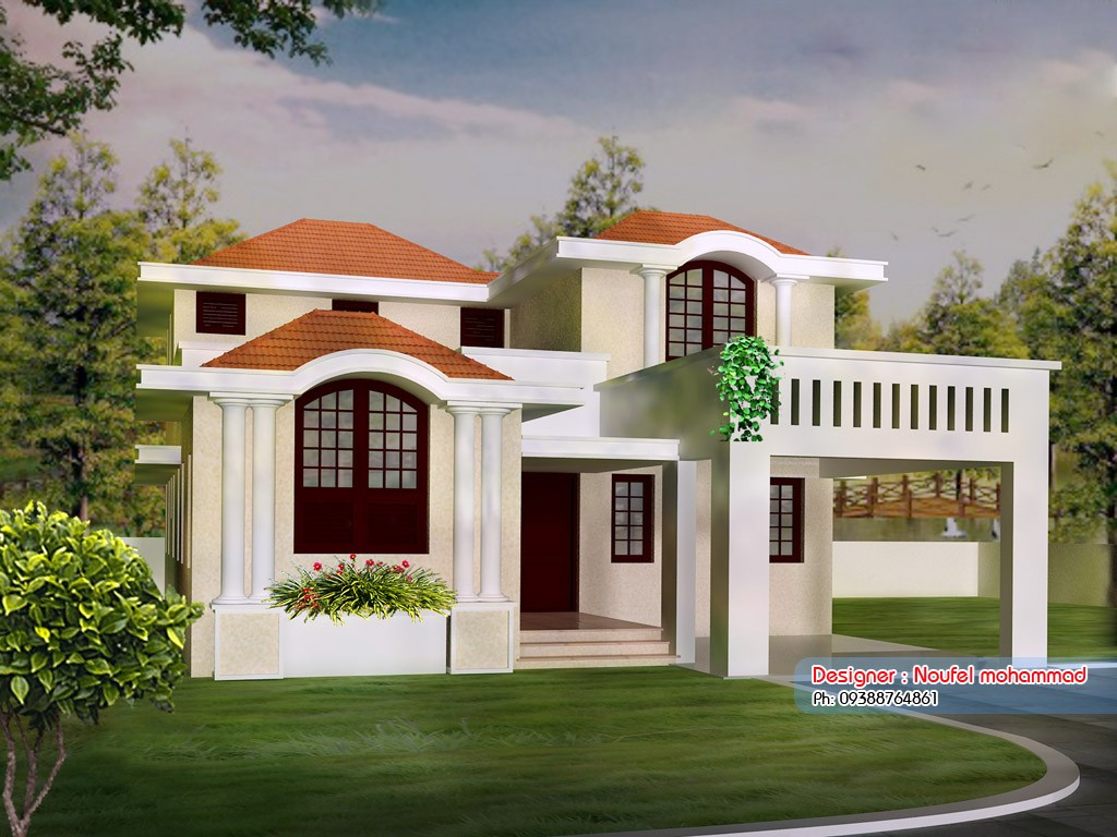 1900 Square Feet 3 Bedroom House Design and Plan