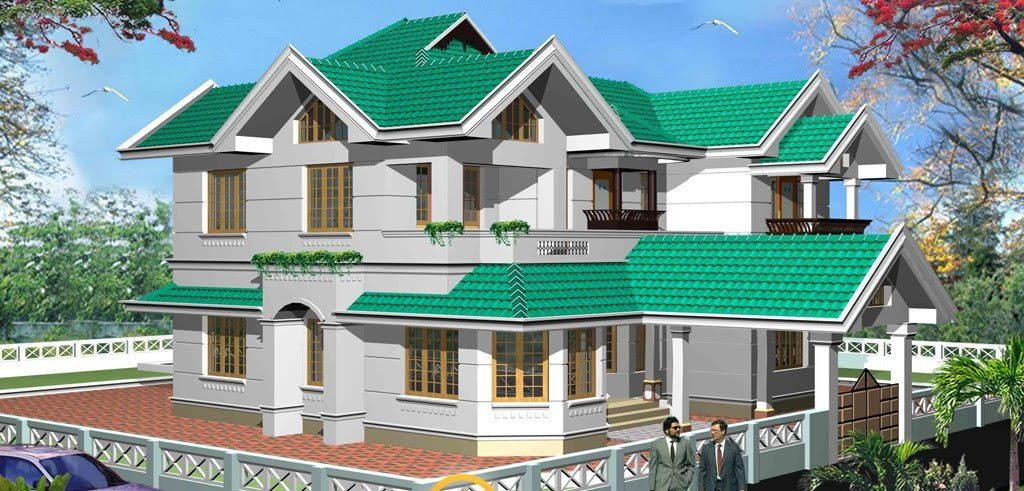 2840 Square Feet 6 Bedroom Contemporary Luxury Home Design and Elevation