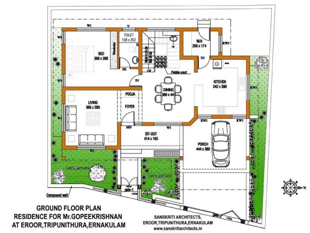 2900 square feet 4 attached bedroom luxury kerala style for Square foot building cost estimates