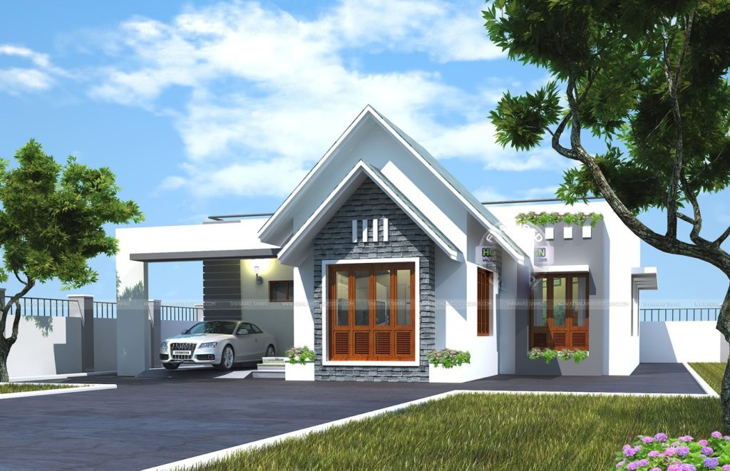 1300 Square Feet 3 Bedroom Amazing Home Design and Elevation