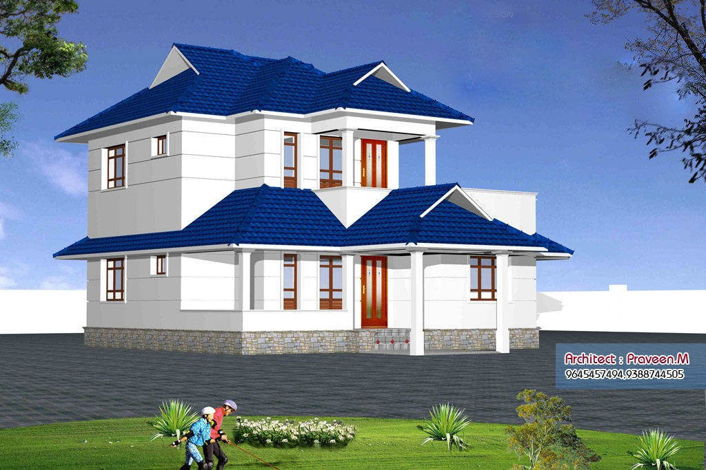 2100 square feet 3 bedroom double floor home design and for 2100 sq ft house plans