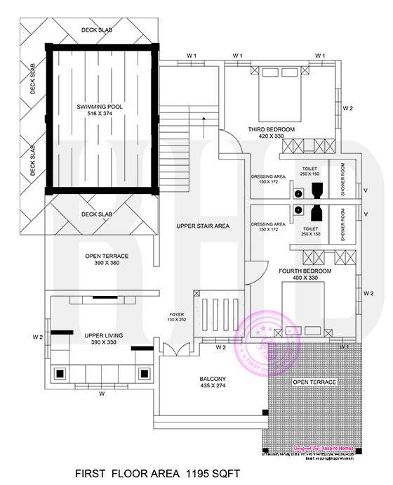 2965 Square Feet 5 Bedroom Double Floor Amazing Luxury Home Design and Elevation