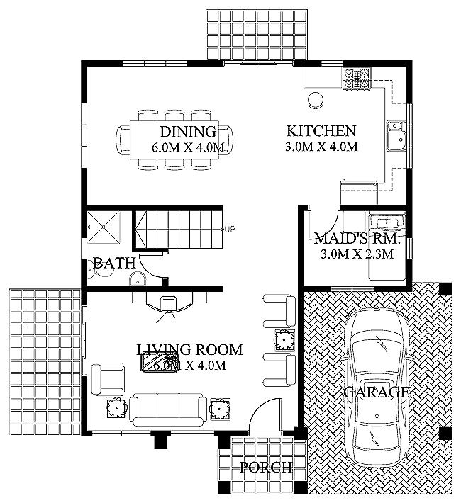 Double Storey 3 Bedroom Kerala Home Design with Elevation