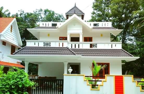 Mid-sized house sold at 1,700 square feet, Angamaly, Kochi, Kerala
