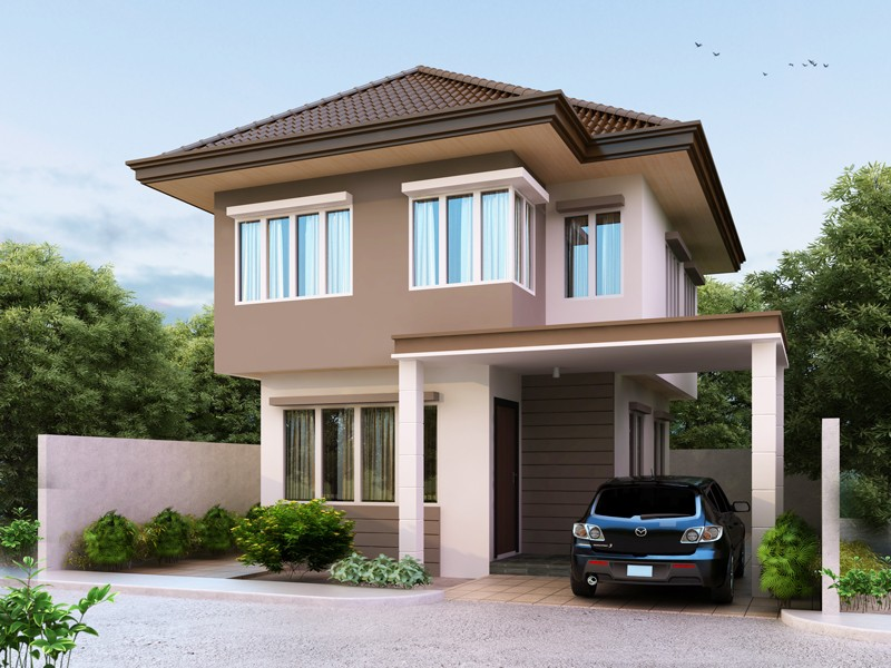 2000 Square Feet 3 Bedroom European Style Modern Home Design and Plan