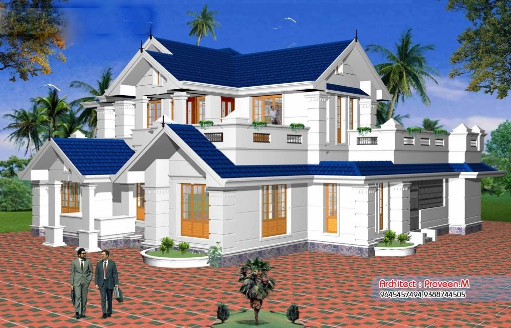 2561 Square Feet 3 Bedroom Double Floor Home Design and Plan