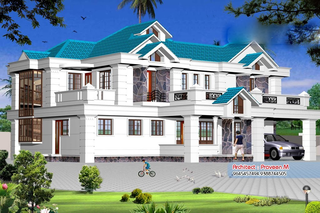 2800 Square Feet 4 Bedroom Modern Luxury Home Design and Elevation