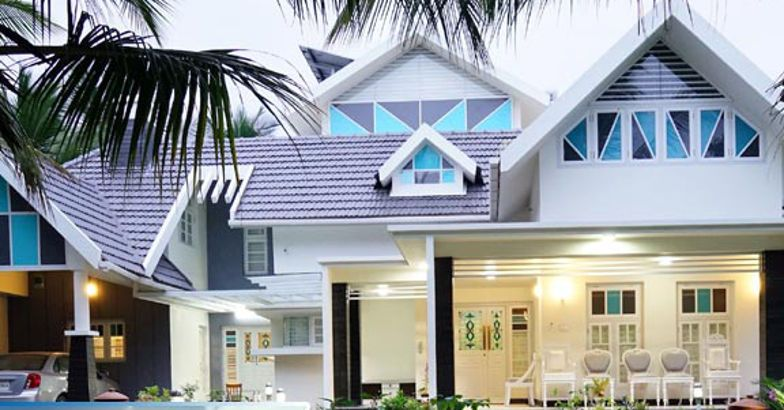 A Colonial Kerala Style Home Design