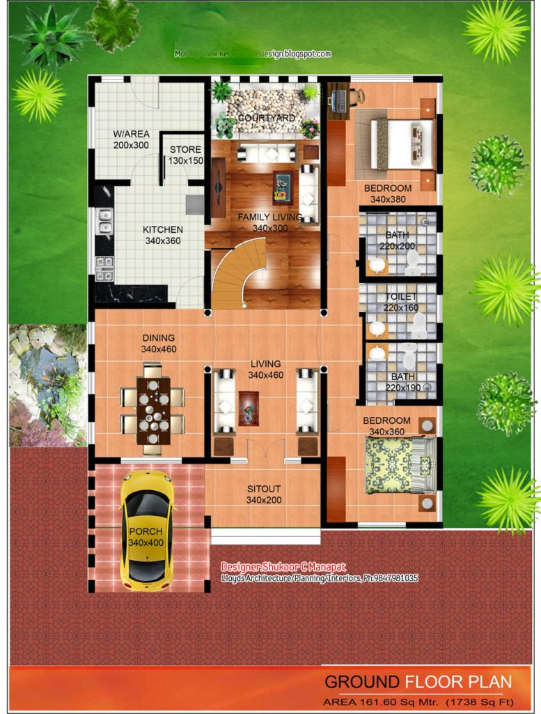 Modern Kerala House Design 2016 At 2980 Sq Ft: 2563 Square Feet 4 Bedroom Contemporary And Kerala Style