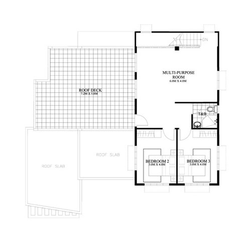 2400 Square Feet 4 Bedroom Double Floor Contemporary Home Design and Elevation
