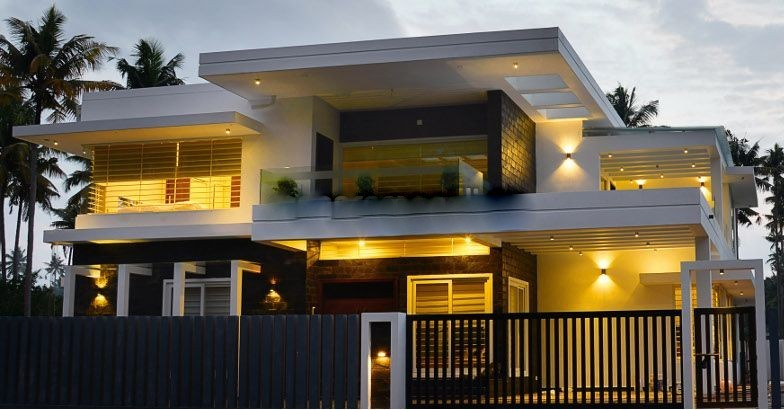 3600 Square Feet 4 Bedroom Two Story Contemporary Home Design and Plan