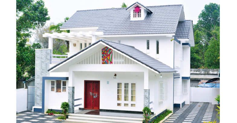 2360 Square Feet 4 Bedroom Colonial Style Modern Home Design and Plan