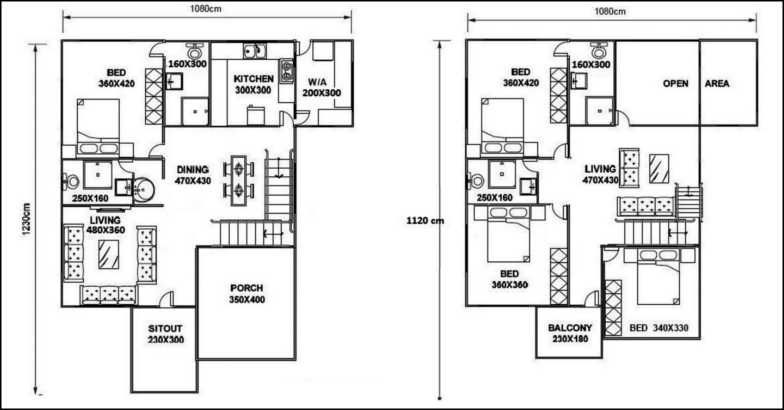 2300 square feet 4 bedroom double story home design and for 2300 square foot house plans
