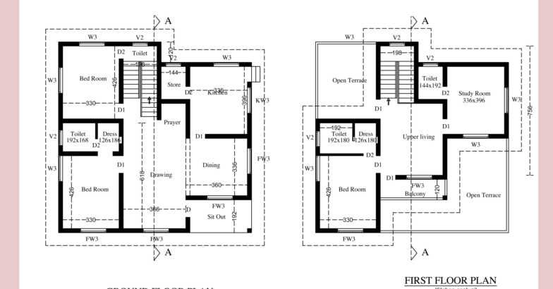 2100 Square Feet 4 Bedroom Kerala Traditional Home Design and Plan