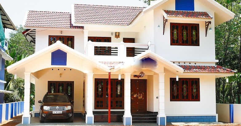 2639 Square Feet 4 Bedroom Double Floor Kerala Style Home Design and Plan