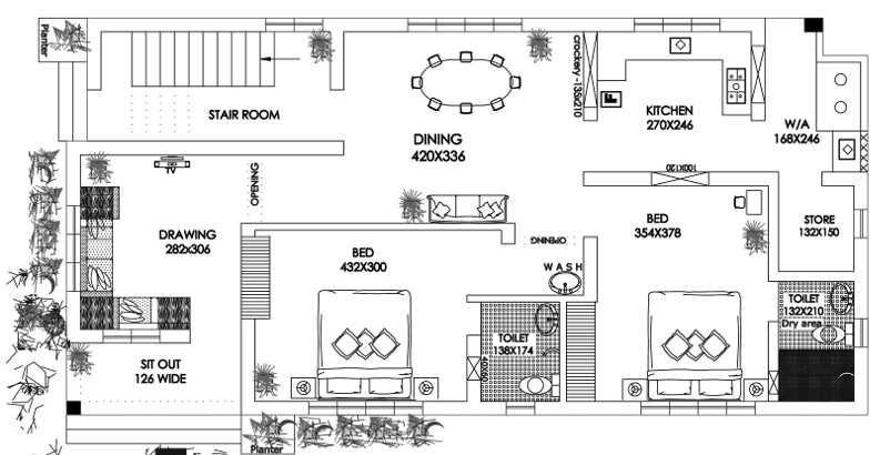 1038 square feet 2 attached bedroom low budget kerala for Kerala style low budget home plans