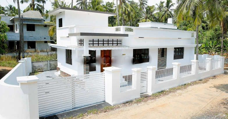 1038 Square Feet 2 Attached Bedroom Low Budget Kerala Style Home ...