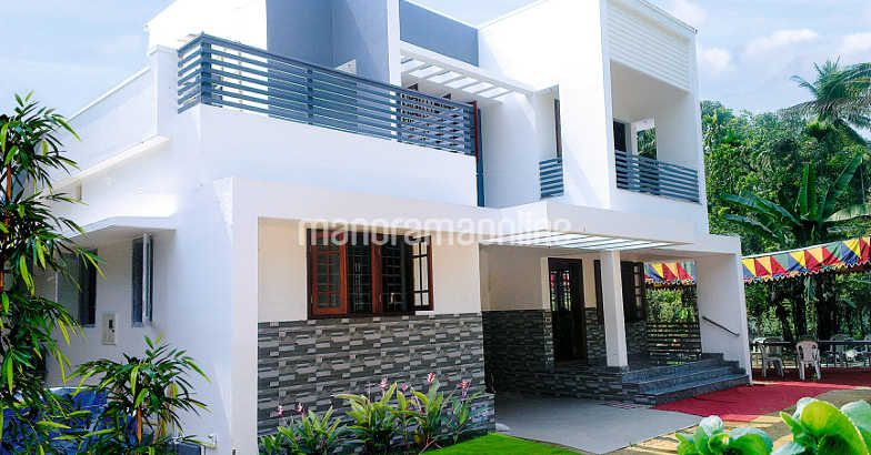 1640 Square Feet 3 Bedroom Two Story House Design and Plan