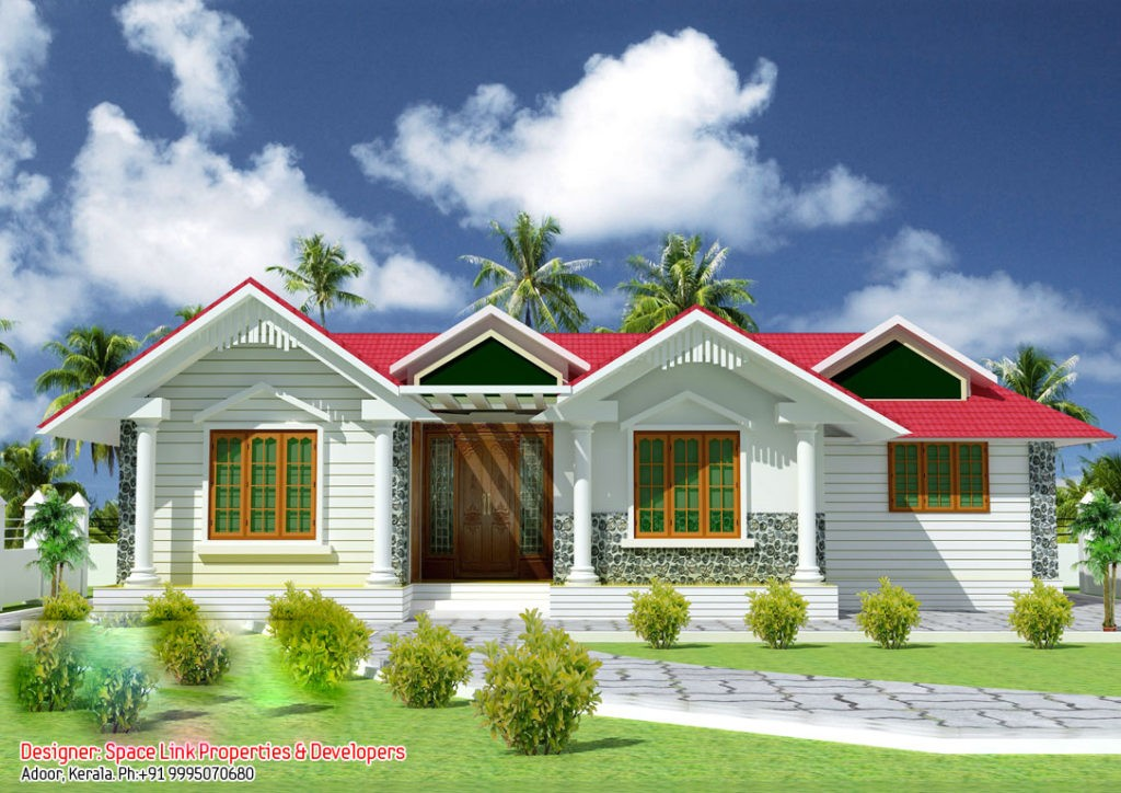 Low budget home design kerala style