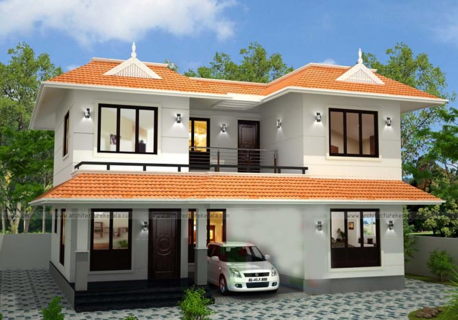 Attirant 2300 Square Feet 3 Bedroom Double Floor Kerala Style Traditional Home Design  And Plan