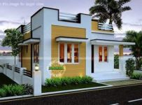 543 Square Feet 2 Bedroom Single Floor Low Budget Home Design and Plan