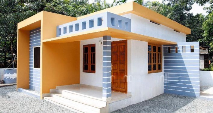 700 Square Feet 2 Bedroom Kerala Style Low Budget Home