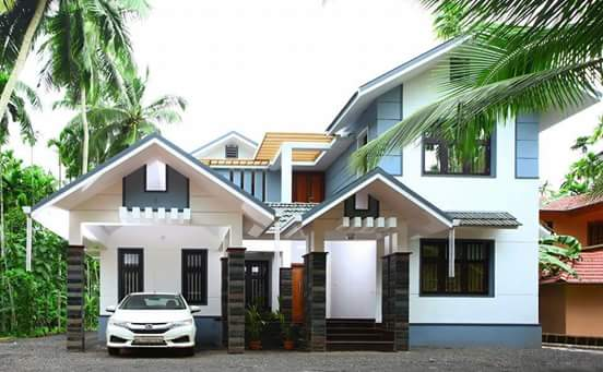 2100 Square Feet 4 Bedroom New Modern Home Design and Plan