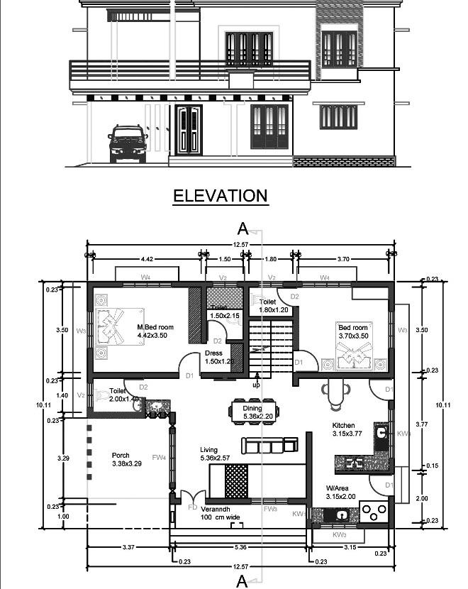 2300 square feet 4 bedroom two story home design and plan for 2300 square foot house plans
