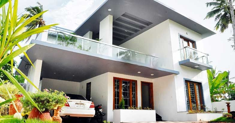2700 Square Feet 4 Bedroom Two Story Contemporary Home Design and Plan