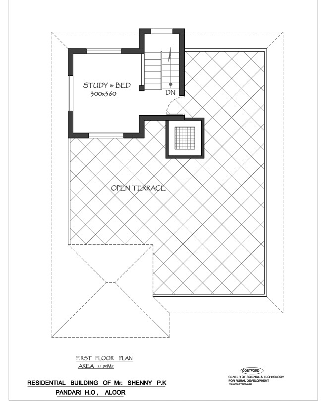1350 Sq Ft House Design: 1350 Square Feet 3 Bedroom Low Budget Home Design And Plan