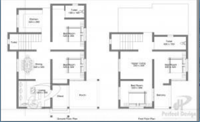 2100 square feet 4 bedroom double floor home design and for 2100 sf house plans