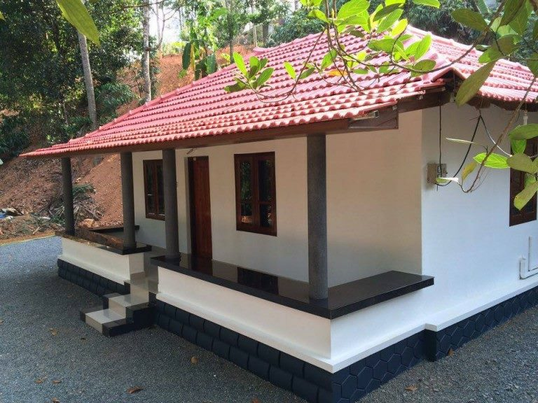 550 Square Feet 2 Bedroom Kerala Traditional Style Home