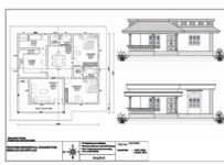 1181 Square Feet 2 Bedroom Low Budget Kerala Style Home Design and Plan