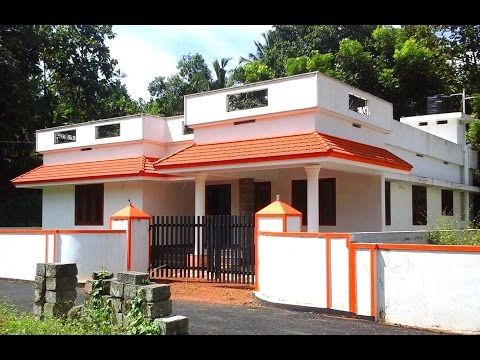 1450 Square Feet 3 Bedroom Kerala Style Budget Home Design at 9.6 Cent Plot