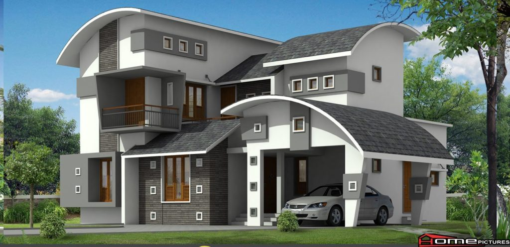 2377 Square Feet 4 Bedroom Modern Contemporary Home Design and Plan