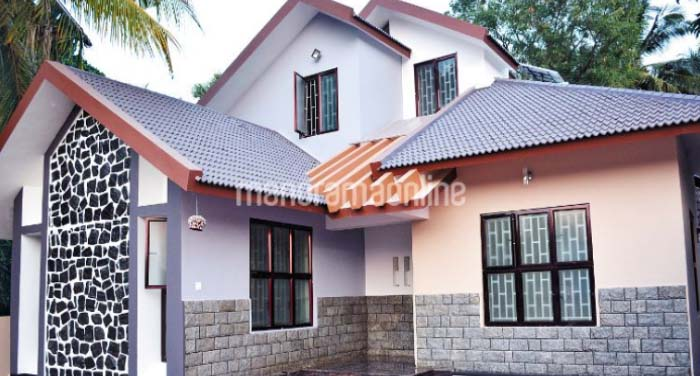 1600 Square Feet 3 Bedroom Double Floor Home Design and Plan