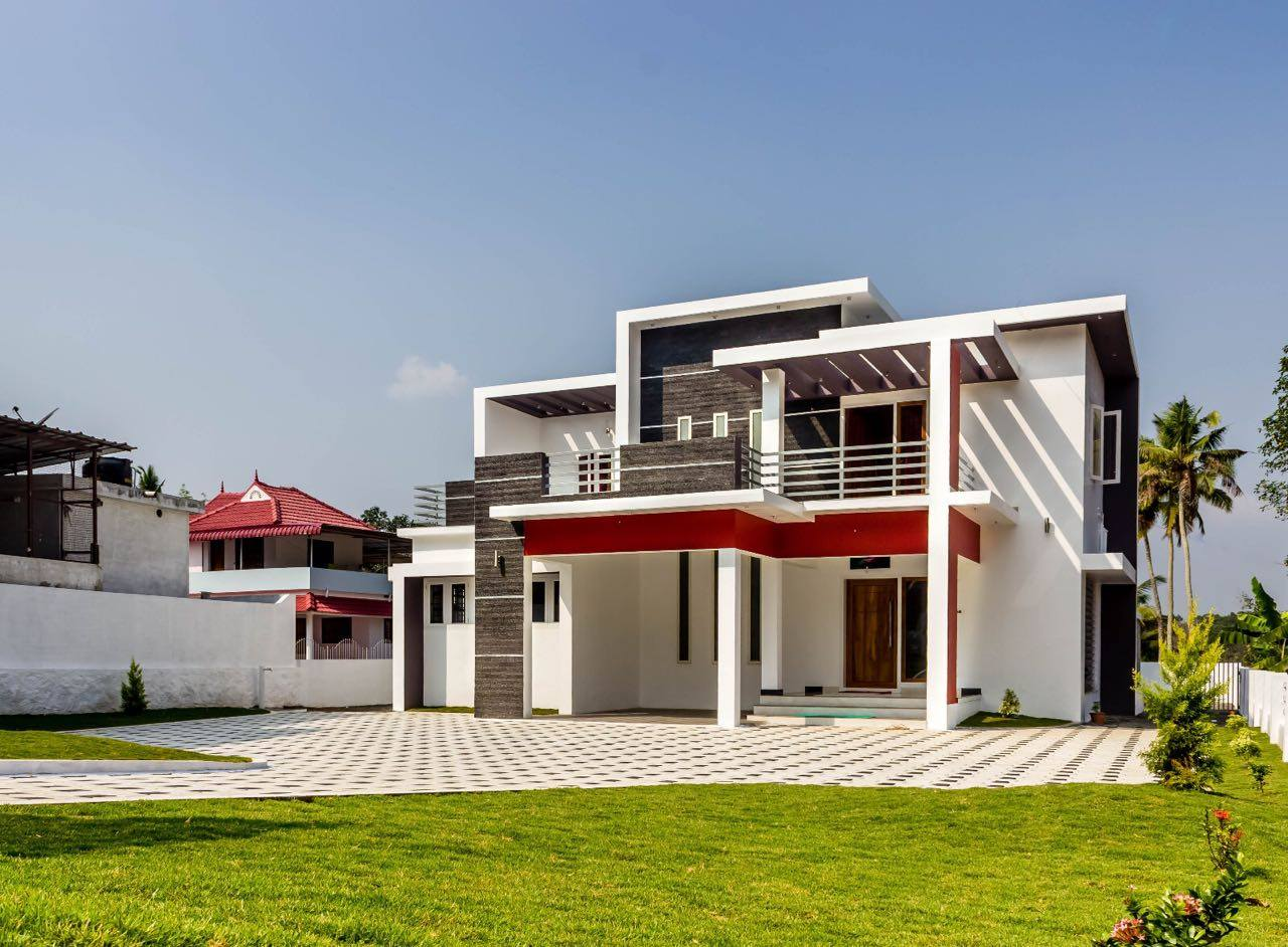 2484 Square Feet 4 Bedroom Contemporary Modern Home Design and Plan
