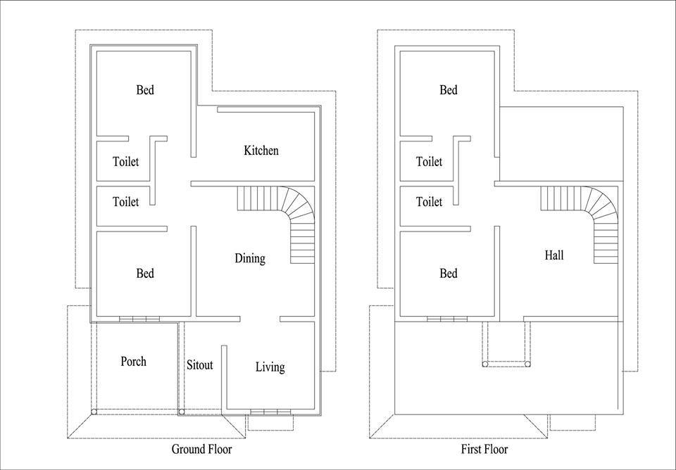 1948 Square Feet 4 Bedroom New Modern Home Design and Plan