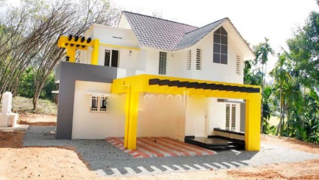 2100 Square Feet 4 Bedroom Contemporary Modern Home Design and Plan