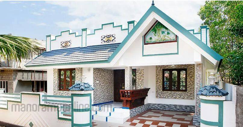 871 Square Feet 3 Bedroom Single Floor Low Budget Home Design and Plan