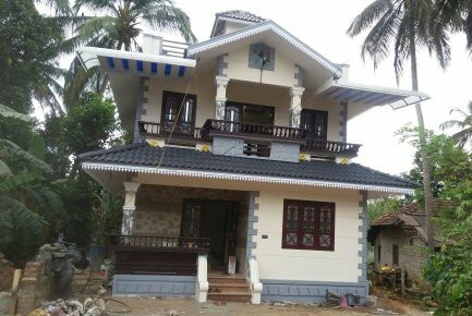 1350 Square Feet 4 Bedroom Low Budget Home Design For 18.8 Lacks