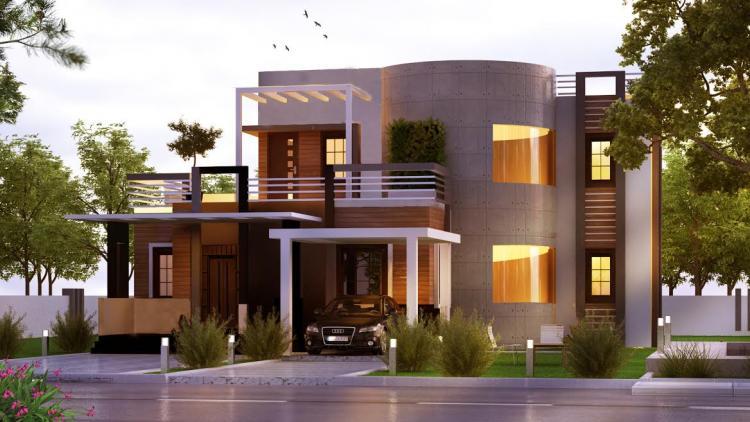 3560 Square Feet 4 Bedroom Super Luxury Contemporary Home Design
