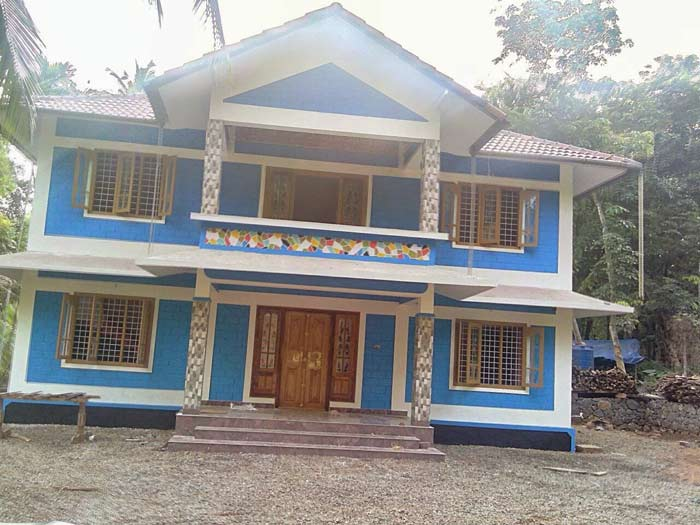 1800 square feet 4 bedroom low budget kerala style home for 1800 sq ft indian house plans