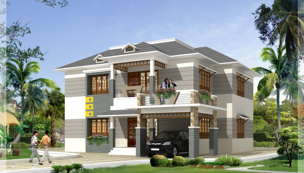 2700 square feet 4 bedroom beautiful modern home design 2700 square foot house plans