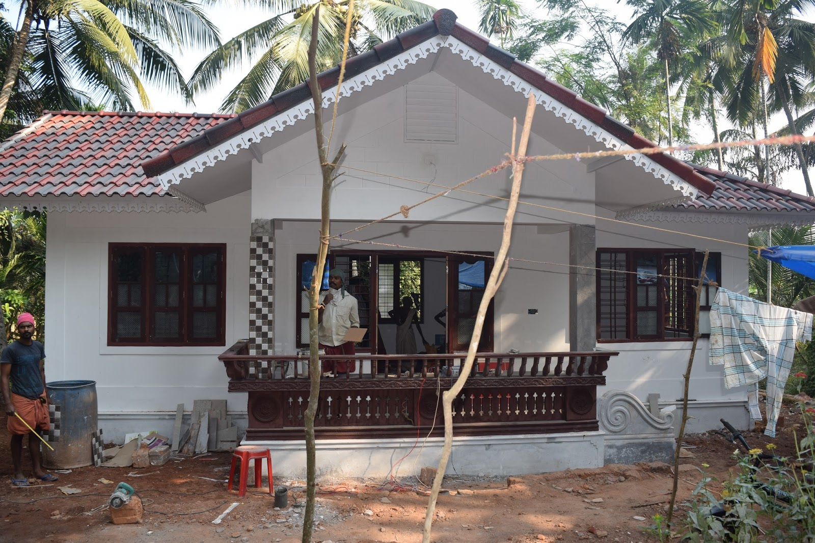 600 Square Feet 2 Bedroom Single Floor Low Budget Home